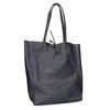 Ladies' leather Shopper handbag, blue , 964-9122 - 13