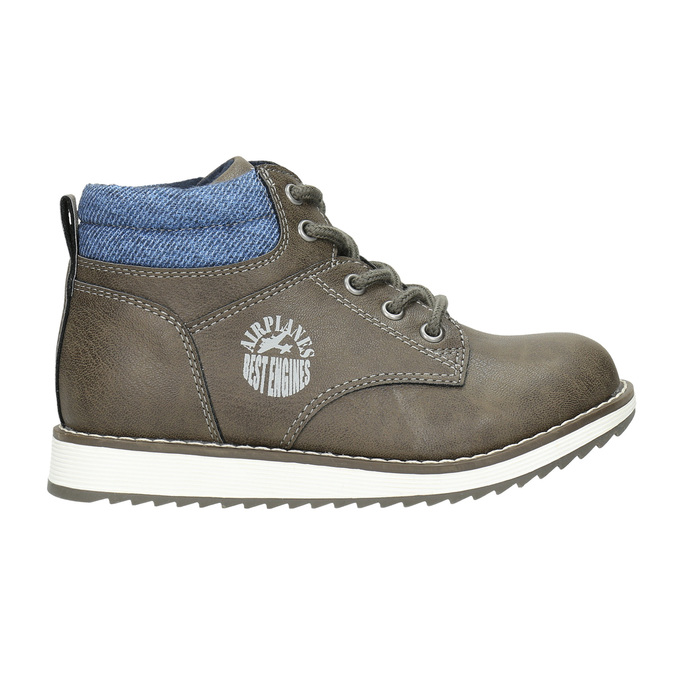 Boys' ankle boots mini-b, brown , 211-3623 - 15