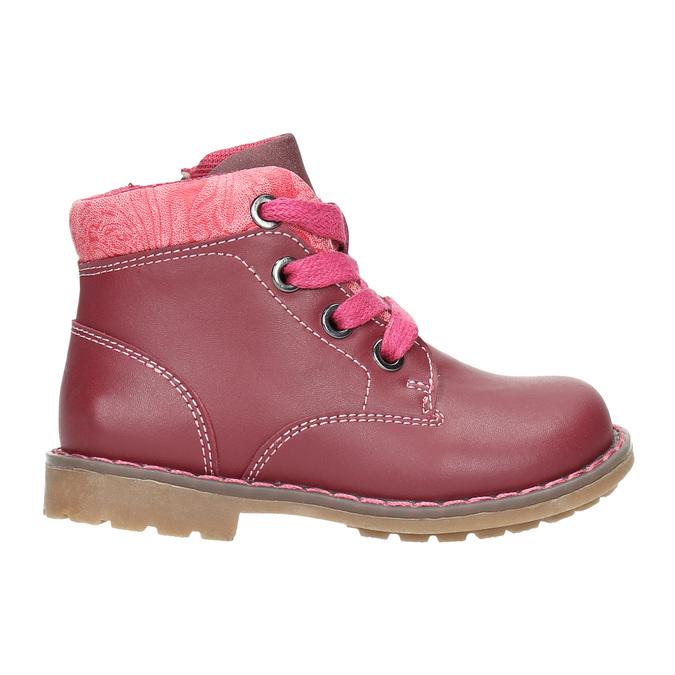Girls' ankle shoes bubblegummer, pink , 124-5601 - 15
