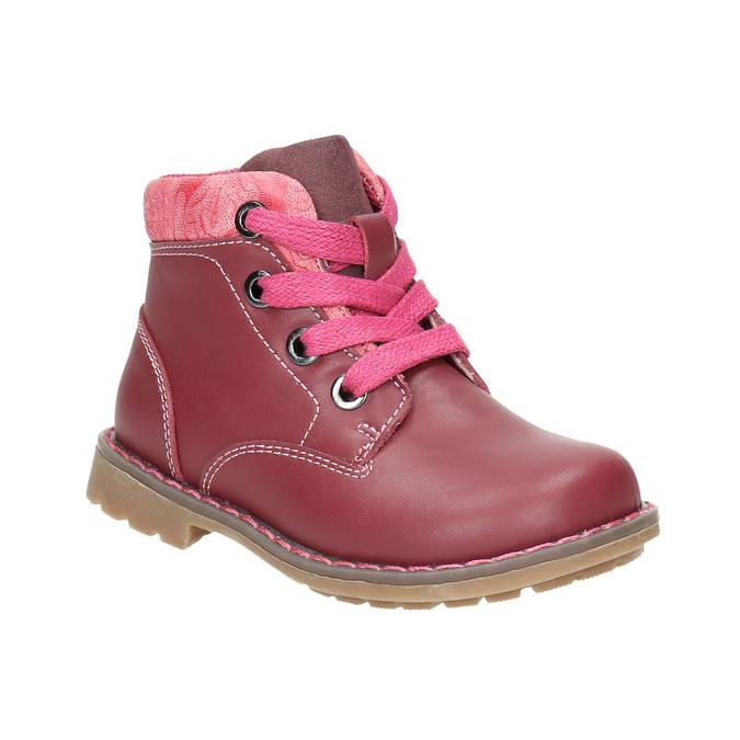Girls' ankle shoes bubblegummer, pink , 124-5601 - 13