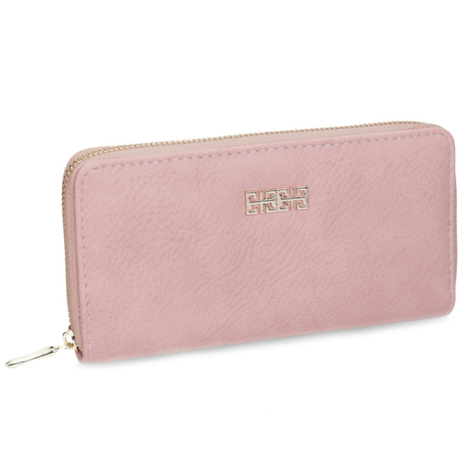 Pink ladies' wallet bata, pink , 941-0180 - 13
