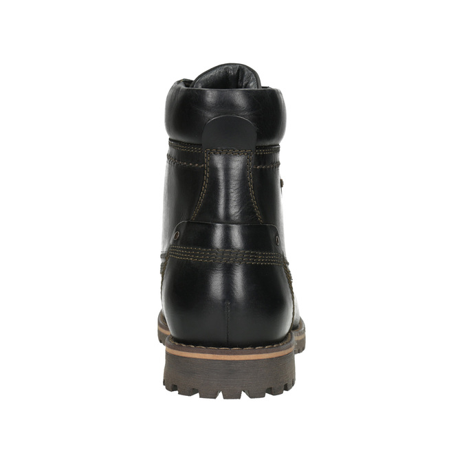 Men´s winter footwear bata, black , 896-6640 - 16