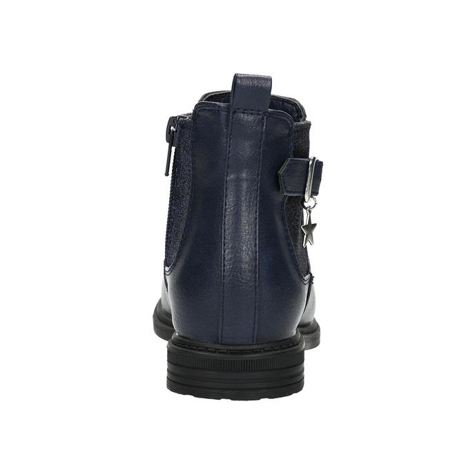 Children's blue Chelsea boots mini-b, blue , 321-9613 - 17
