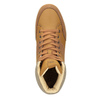 Men's high-top sneakers north-star, brown , 841-3608 - 15