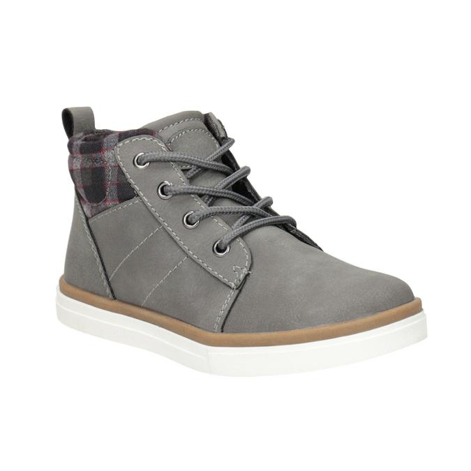 Children's High Top Shoes mini-b, gray , 291-2172 - 13
