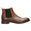 Brown leather Chelsea Boots bata, brown , 896-3673 - 15