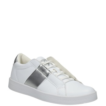 Ladies' White Sneakers, white , 501-1171 - 13
