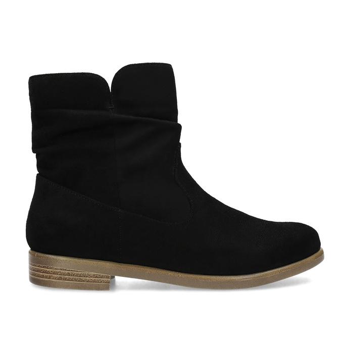 Ladies' ankle boots bata, black , 599-6614 - 19
