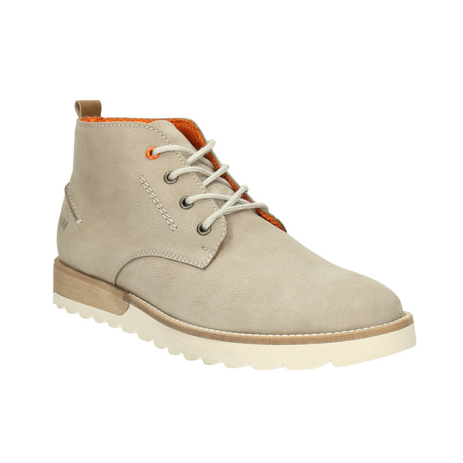 Men's Ankle Boots weinbrenner, beige , 846-8701 - 13