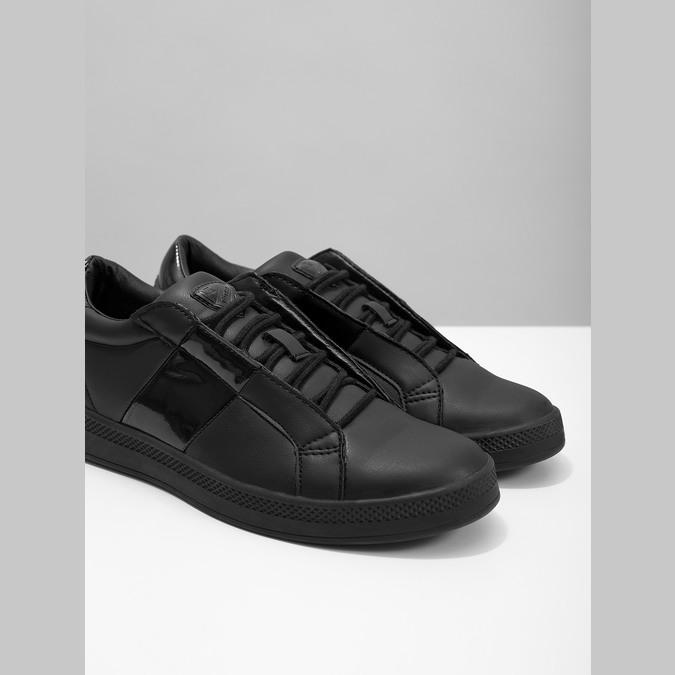 Ladies' Black Sneakers, black , 501-6171 - 14