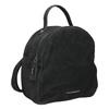 Ladies' Leather Backpack fredsbruder, black , 966-6054 - 13