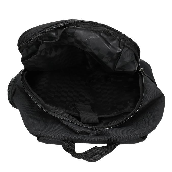 Black Backpack with Buckles vans, black , 969-6098 - 15