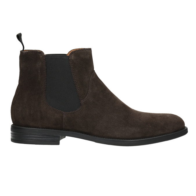 Men's Leather Chelsea Boots vagabond, brown , 813-4019 - 26