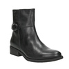 Ladies' Leather High Boots with Buckle vagabond, black , 614-6028 - 13