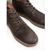 Men's leather ankle boots bata, brown , 846-4653 - 14