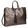 Ladies' Handbag with Tassel bata, brown , 961-8200 - 13