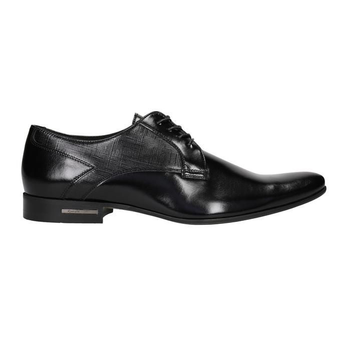 Men's leather shoes conhpol, black , 824-6994 - 26