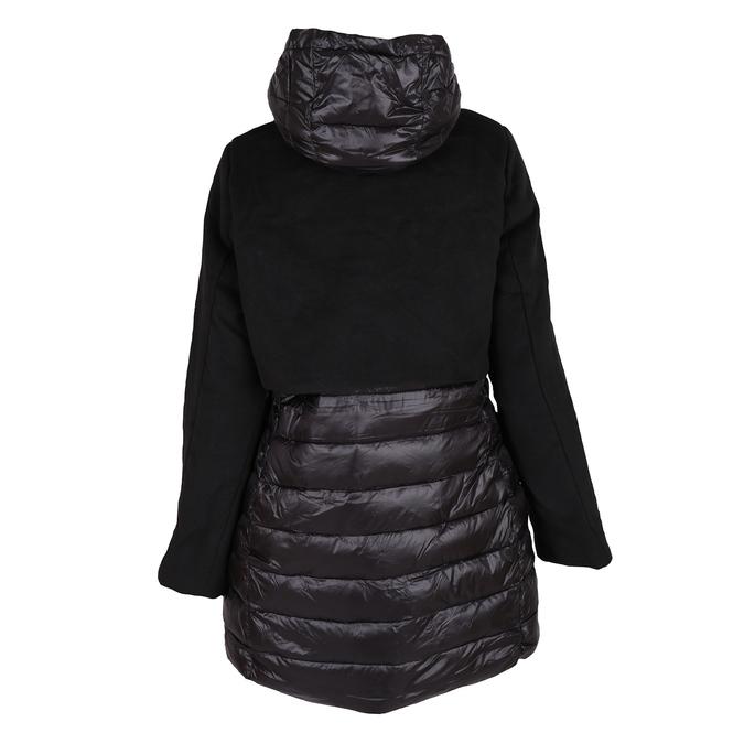 Ladies' hooded jacket bata, black , 979-6163 - 26