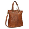 Ladies' Leather Handbag bata, brown , 964-3245 - 13