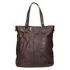 Brown Leather Handbag bata, brown , 964-4245 - 26