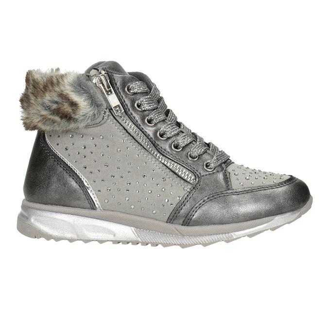 Childrens shoes mini-b, gray , 329-2287 - 26