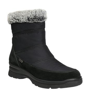 Ladies' winter snow boots comfit, black , 599-6618 - 13