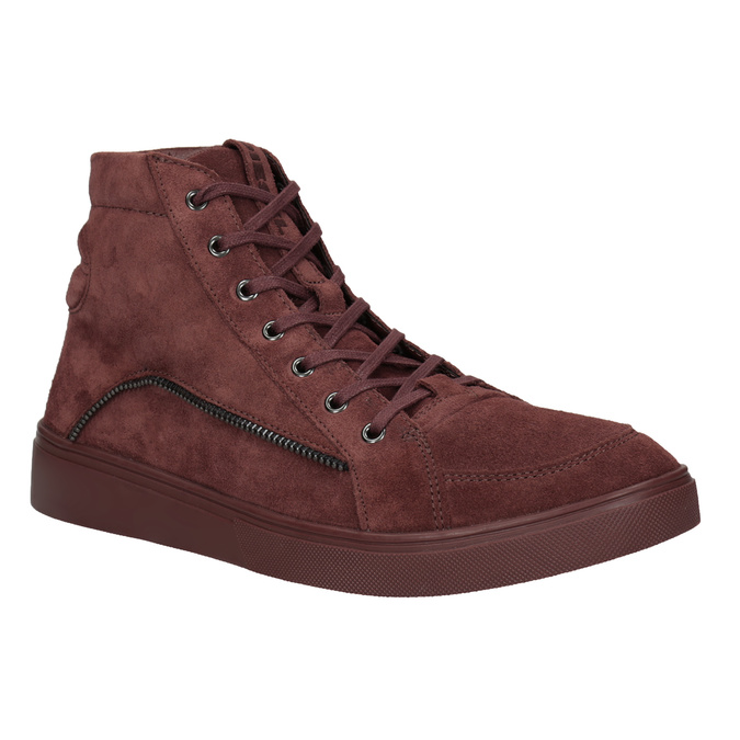 Men's ankle boots diesel, red , 803-5629 - 13