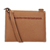 Brown Leather Crossbody Bag picard, brown , 966-3051 - 16