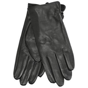 Ladies' leather gloves, black , 904-6129 - 13