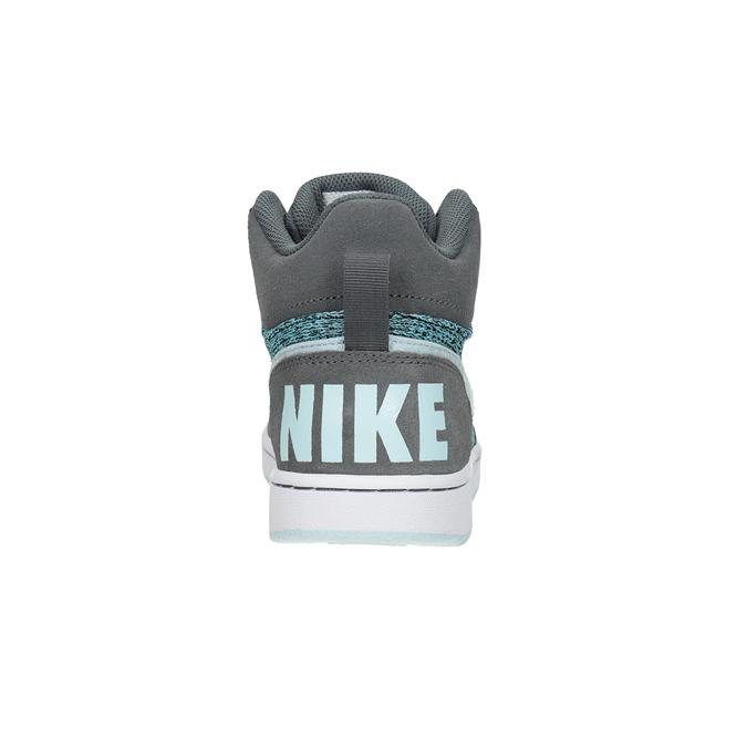 Children's High-Top Sneakers nike, gray , 401-2108 - 15