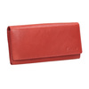 Ladies' red leather purse bata, red , 944-3203 - 13