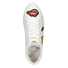 Ladies' white sneakers with patches north-star, white , 541-1602 - 15