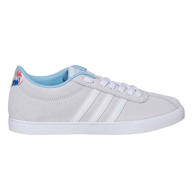 Ladies' grey sneakers adidas, gray , 501-2229 - 15