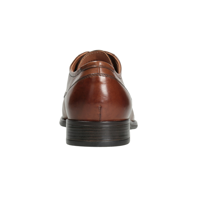 Men's dress shoes with stitching, brown , 826-4995 - 16