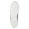 Men's leather sneakers bata, black , 846-6617 - 18