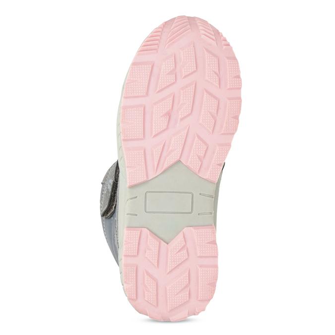 Girls' Snow Boots with Fleece mini-b, gray , 291-2625 - 18