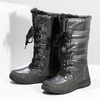 Ladies' winter snow boots bata, gray , 599-2619 - 16