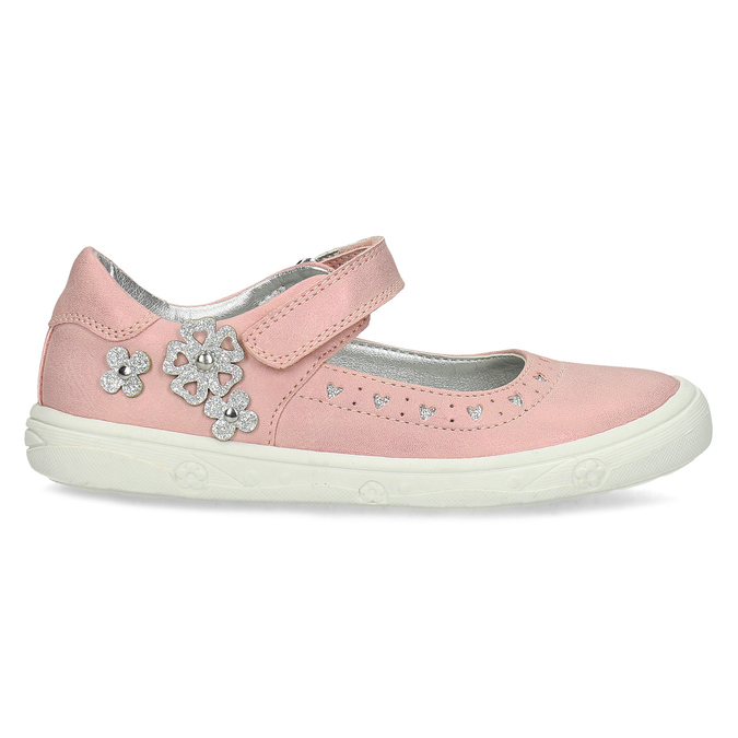 Girls' pink ballerinas mini-b, pink , 221-5216 - 19
