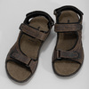 Leather sandals with Velcro fasteners weinbrenner, 866-4631 - 16